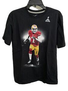 Nike Colin Kaepernick Super Bowl VLVII T-Shirt - San Francisco 49ers Large Size