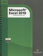 Microsoft Excel 2010: Comprehensive by Rittman, Sandra