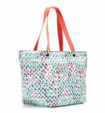 Fossil Key-Per EW Blue Multi Tote Bag Shoulder Shopper Bag new