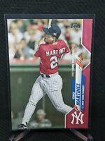2020 Topps Update TINO MARTINEZ Mothers Day Pink #/50 Yankees HR Derby U-122