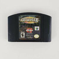 Tony Hawk's Pro Skater 3 (Nintendo 64, 2002) n64 Authentic Good