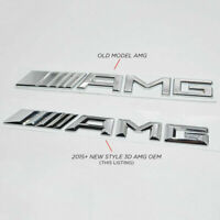 NEW STYLE - For Mercedes AMG Boot Badge Rear Emblem Logo - for every model