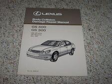 1998 Lexus GS400 GS300 GS 400 300 Body Collision Service Repair Manual 1999 2000