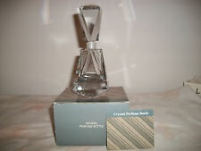 AVON GIFT COLLECTION LARGE CRYSTAL PERFUME BOTTLE