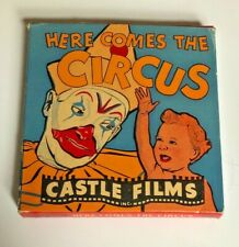 Vintage Castle Films Here Comes The Circus 8mm movie Original Box Clyde Beatty