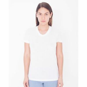 American Apparel Womens/Ladies Short Sleeved Sublimation T-Shirt (BC4084)