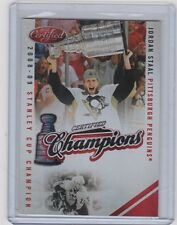 10-11 2010-11 CERTIFIED JORDAN STAAL RED CHAMPIONS /250 9 PITTSBURGH PENGUINS