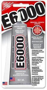 E6000 Starker Alleskleber Clear 60ml/ Metall, Holz, Schmuck, Glas SONDERANGEBOT!