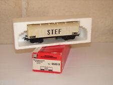 JOUEF ( 6560 B ) WAGON COUVERT FRIGO STEF A BOGIES DE LA SNCF EN BOITE HO