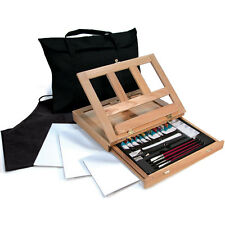 Artists Watercolor Easel Art Set With Easy To Store Bag - Royal and Langnickel