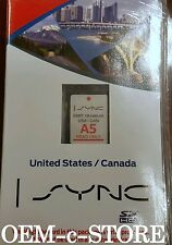 2014 Lincoln MKZ Ford Transit Fiesta C-Max Navigation SD Card U.S Canada Map OEM