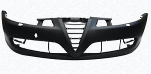 ALFA ROMEO GT 2003 - 2010 Front Bumper Cover with holes for headlight washer OEM