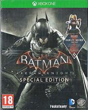 Xbox ONE Batman Arkham Knight Special Edition Steel Book Brand NEW