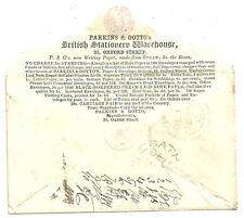 1D ROSA BUSTA PARKINS & GOTTO Pubblicità 1855 Broadway sconosciuto 10 Postino iniziale