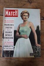 Paris Match N°192 Novembre 1952 Indochine Tonkin Eisenhower Mauriac John Ford