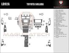 Fits Toyota Solara 2007-2008 Large Premium Wood Dash Trim Kit