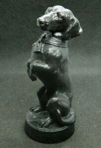 Kasli cast iron figurine of the USSR the dog is a Dachshund. statue casting rar