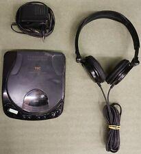 TEC Tragbarer CD-Player 3860 CD / Digital Filter / SONY Kopfhörer / Netzteil