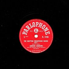 """1956 EAMONN ANDREWS 78 """" THE SHIFTING WHISPERING SANDS """" PARLOPHONE R4106 EX"""