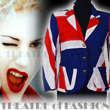 Jacket Coat Blazer Vintage Topshop Flag Union Jack 60s 70s Mods Punk Rock Who
