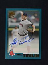 2018 Topps Archives Fan Favorites Auto #FFA-MTI Mike Timlin