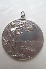 Large SILVER  R.A.F. Shooting Medal   RAF IRAQ RIFLE & PISTOL ASSOCIATION 1937