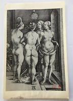 RARE?  - Albrecht Durer - Antique German Engraving Print - Old Master German