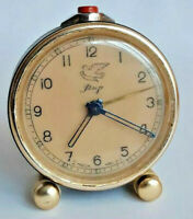 Alarm Clock Slava 1957 MIR Russia Russian USSR Soviet Old Collectible