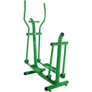 Stamina 65-1770 Outdoor Steel Exercise and Fitness Strider with Dual Handlebars