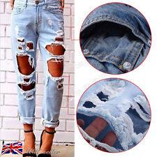 Unbranded Regular Size Cotton Boyfriend Jeans for Women