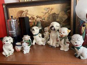 Rare bonzo comic character porcelain germany dalton  9 collection antique 1930