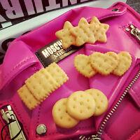 Kawaii Biscuit Hair Clips Creative Star Heart Clip Kids Hair Accessories RS
