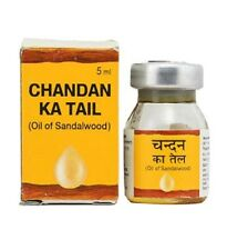 Dabur Sandalwood Oil | Chandan Ka Tail | 100% Pure Oil Of Sandalwood Edible 5 ml