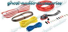 Vibe CL8AWK 1500w 8 AWG Gauge completa Car Audio Amplificatore AMP Kit di cablaggio SUB