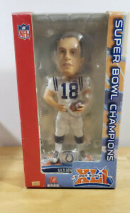 Peyton Manning Indianapolis Colts Super Bowl XLI Bobblehead New  Forever Collect