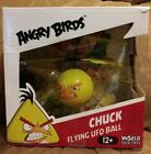 ANGRY BIRDS CHUCK FLYING UFO BALL INDUCTION FLYING BRAND NEW HELICOPTER
