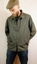 Vintage Gloverall Mac Rain Coat Harrington Jacket XL Made In England