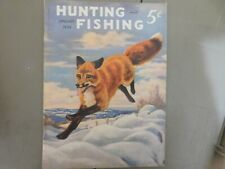 JANUARY 1939 HUNTING & FISHING MAGAZINE