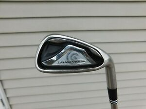 Used Right Handed Cleveland Launcher 6 Iron w/ Steel S Flex Shaft