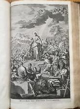 Bible Biblia neerlandica Folio 400 Engravings by J. Luiken - 1722
