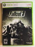 Fallout 3 (Microsoft Xbox 360, 2008) Complete, Great Condition!