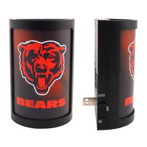 Chicago Bears Night Light Sensing