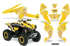 CanAm Renegade500/800/1000 AMR Racing Graphic Kit Wrap Quad Decal ATV All MOTO Y
