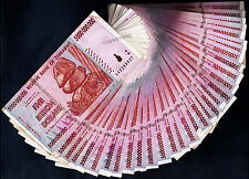 5 Billion Zimbabwe Dollars x 25 Banknotes ¼ Bundle AA AB 2008 25PCS Currency Lot