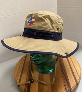 YOUTH BUSH/BOONIE/BUCKET TEXAS HAT BROWN OSFM EXCELLENT CONDITION