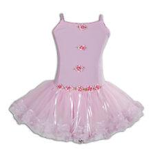 New Girls Pink Ballet Dance Tutu Dress 4-5 Years