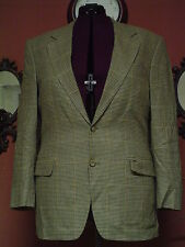 Mens Jos A Bank Size 40R Multi color Houndstooth Wool/Silk Sport Coat Blazer EUC
