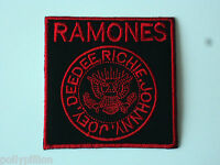 Ramones Sew or Iron On Patch