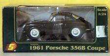 Sunnyside Porsche 1961 356B Coupe Superior Diecast Metal 1:24 Scale