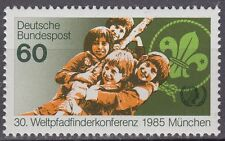 GERMANY federale BRD 1985 Mer 1254 ** BOY SCOUT SCOUTS SCOUTING